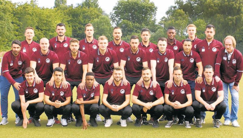 Die Landesliga Mannschaft des SC Vorwärts-Wacker 04 Billstedt für die Saison 2016/17